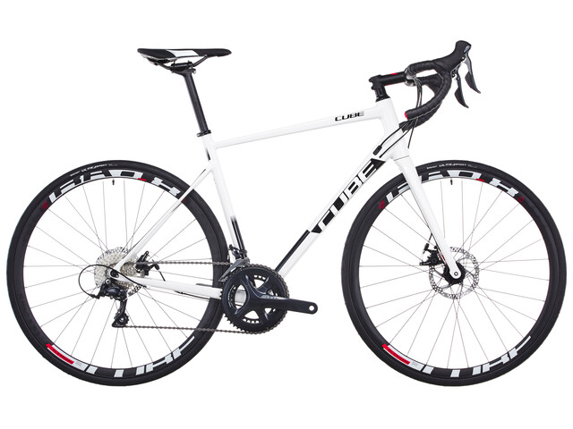 Cube Attain Pro Disc - Vélo de route - blanc